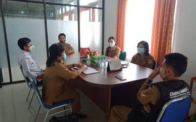 Menjalin Komunikasi Bersama Diskominfosantik Provinsi Kalteng